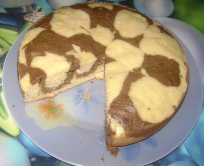 Рецепт пирога с какао на скорую руку