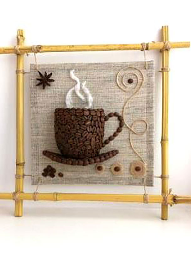 поделки из зерен кофе