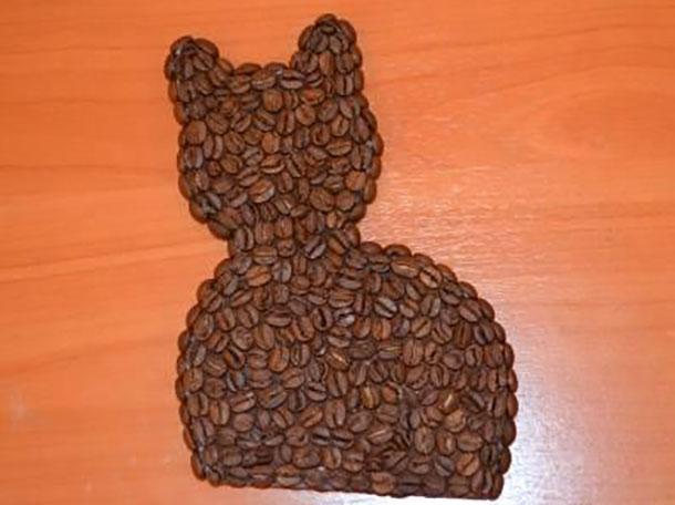 мастер класс поделки из зерен кофе