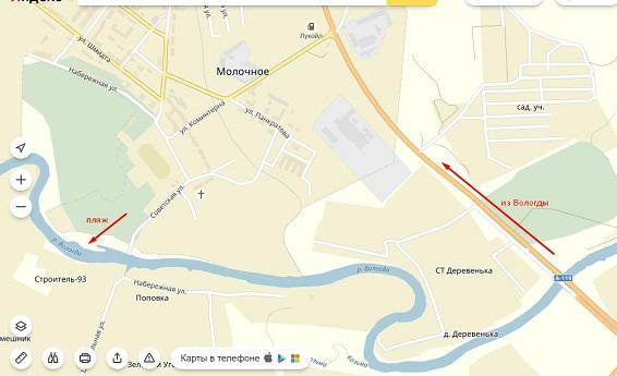 Где можно купаться в Вологде
