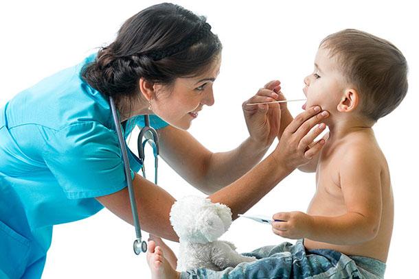 чем лечить ангину у детей