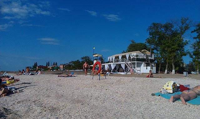 городской пляж ейска
