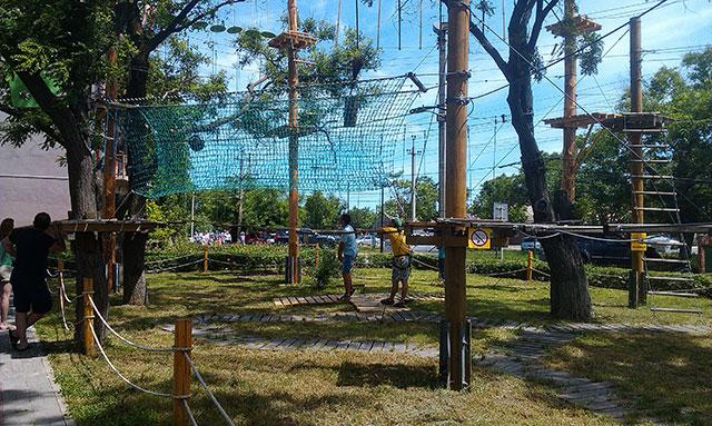 веревочный парк в ейске