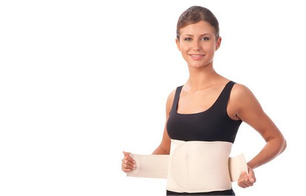 помогает ли бандаж после родов убрать живот