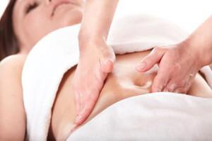 массаж живота после родов
