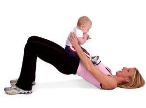 физкультура для мамы