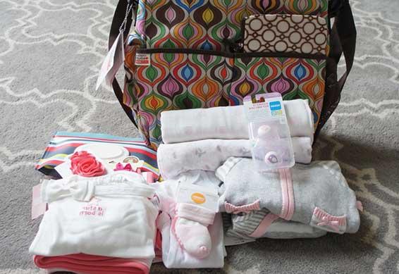 вещички для новорожденного
