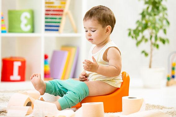 Как приучать ребенка к горшку