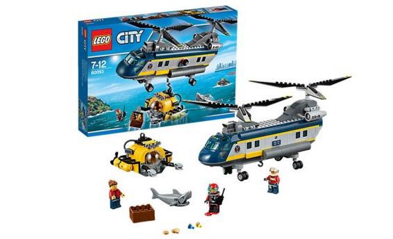 LEGO City 60093: Вертолет исследователей моря