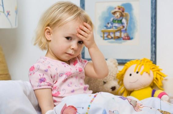 Причина частых простудных заболеваний ребенка