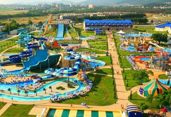 аквапарк Золотая бухта в геленджике