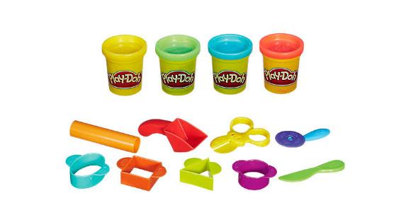Детский пластилин Плей До базовый набор