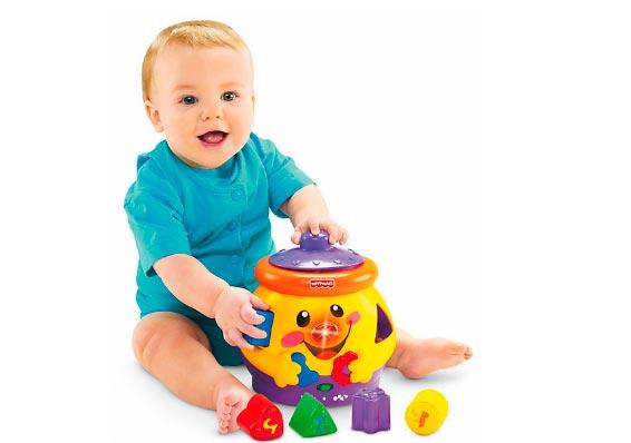 развивающие игрушки Фишер Прайс (Fisher-Price) волшебный горшочек