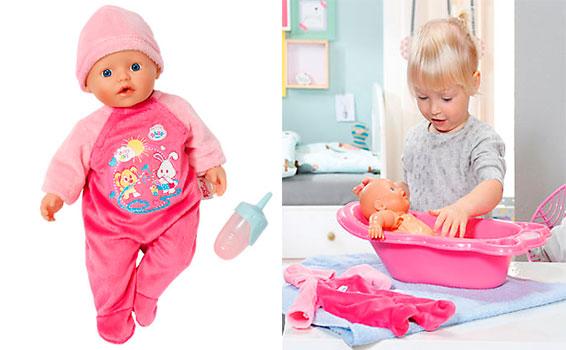 Кукла быстросохнущая my little BABY born
