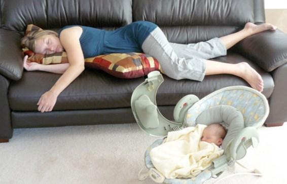 усталость после родов