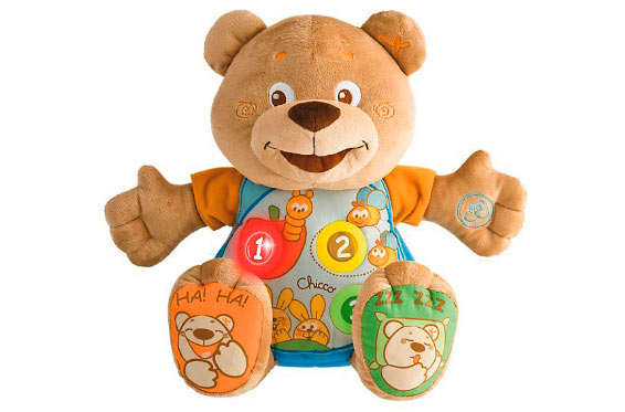 мишка teddy chicco