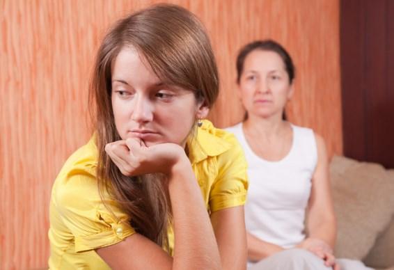 Отношения дочери и матери