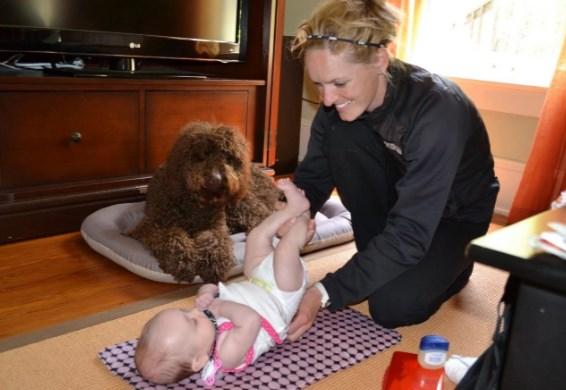 развивающие игры для новорожденных