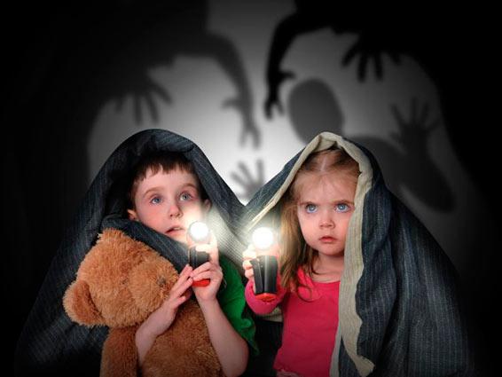 Возрастные страхи у детей