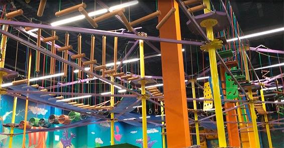 Детский центр Замания веревочный парк