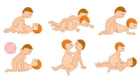 позы во время беременности
