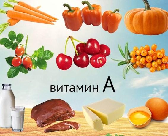 для чего полезен витамин А