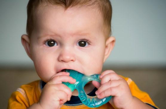 скрип зубами при прорезывании