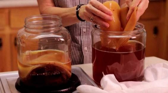 как сделать чайный гриб