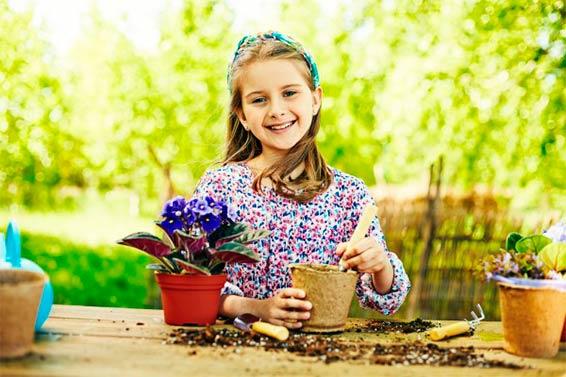 детям про цветы